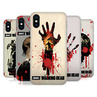 OFFICIAL AMC THE WALKING DEAD SILHOUETTES HARD BACK CASE FOR APPLE iPHONE PHONES