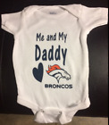 NFL me and my daddy Broncos infant sizes