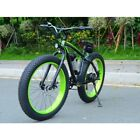 ELECTRIC FAT TIRE BIKE SELF PROPELLED RECHARGEABLE SMART BIKE OFF ROAD XMAS