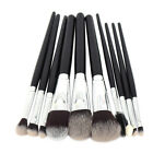 10pcs Essential  Makeup Brushes Set Full Function High Quality Soft Makeup Tools
