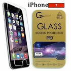 100% Genuine Tempered Glass Film Screen Protector For Apple iPhone