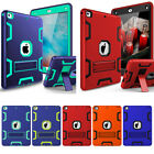 """Hybrid Defender Armor Impact with Stand Hard & Soft Case for New 2017 iPad 9.7"""""""
