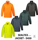 Portwest S450 Premium Waterproof Sealtex Clasic Rain Jacket Coat Hooded Workwear