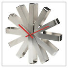 Umbra Stainless Steel Ribbon Wall Clock -- available in Stainless, Black