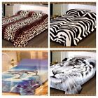 New Heavy Soft Thick and Warm 2 Ply Bed Blanket throw Double Sided Double King