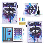 """For iPad 5th Generation 9.7"""" 2017 Cute Pattern Magnetic Leather Flip Case Cover"""
