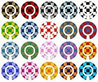 ACCLAIM Self Adhesive Large Check Bowls Bowlers Stickers Sets Of 4 Self Adhesive