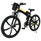 """26""""~Foldable Electric Mountain Bike Bicycle Ebike W/Lithium Battery Best Gift"""