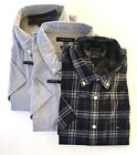 NEW TOMMY HILFIGER Men's Classic Fit Short Sleeve Woven Shirt VARIETY