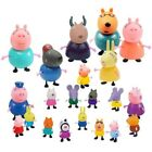 Kids Gift 21 Pcs Peppa Pig Family&Friends Emily Rebecca Action Figures Toys Xmas