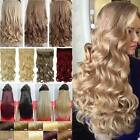 Real Thick One Piece Clip in Full Head Hair Extensions Extension As Human TN5