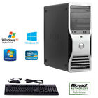 Fast Dell Precision 390 Workstation Computer PC Tower 4GB Core 2 Duo + KB / MS