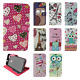 For ZTE Blade Force Premium Leather Wallet Case Pouch Flip Phone Cover Accessory