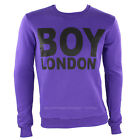 Herren Sweatshirt BOY LONDON col.viola bl424 Herbst / Winter