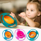 Universal 360 Rotate Spill-Proof Bowl for Baby Feeding Dish Food Cute Baby Gyro