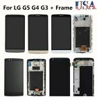 For LG G5 G3 G4 LCD Display Screen Touch Digitizer Assembly + Frame Replacement
