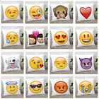 Funny Emoji & Home Decor Smiley Faces Soft Cushion & Cushion Covers