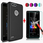 For ZTE Blade Z Max/Blade Zmax Pro 2 Case Cover + Glass Screen Protector Film
