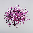 Rose Purple Star Confetti Birthday Baby Shower Party Table Foil Sprinkles 3mm