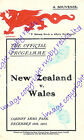 WALES v NEW ZEALAND ALL BLACKS 1946-2014 RUGBY PROGRAMMES GOOD+ CONDITION