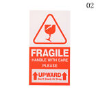 50Pcs Fragile Sticker Up and Handle Care Fragile Warning Label Stickers 2StyleBB