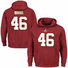 Washington Redskins Majestic 15 Men's Eligible Receiver Ii Nn Hood Sweatshirts