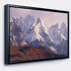 Designart 'Snowy Tatra Mountains in Spring' Landscape Framed Canvas Art Print