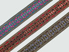 """1.50"""" (3.81 Cm) wide By The Yard Jacquard Trim Woven Border Sew Ribbon T658"""