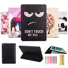 For Ipad Mini 1/2/3 Leather Cute Pattern Flip Smart Slim Soft Case Stand Cover