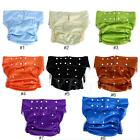 Waterproof Teen Adult Diaper Cloth Bedwetting Incontinence Nappy Pants wd2