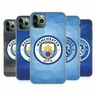 MANCHESTER CITY MAN CITY FC BADGE GEOMETRIC GEL CASE FOR APPLE iPHONE PHONES