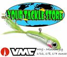 VMC MNJ Minnow Jig 1/16 1/8 1/4 You Pick Color Size & Quantity NIP Iceforce