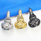Jewelry Making Findings 18K gold plated Crystal Ear Spacer Pendant drop Bail