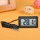 LCD Embedded Digital Thermometer For Fridges Freezer Aquarium Temperature Home