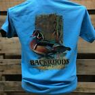 Backwoods Born & Raised Mallard Duck Country Comfort Colors Bright Unisex T Shir