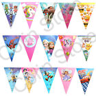 banner dos minions - New Theme Banner Birthday Kids Party Decorations Flag Supplies Bunting Moana