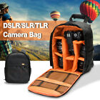 Waterproof DSLR Camera Video Backpack Shoulder Bag Case For Canon Nikon Sony