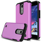 For LG Aristo 2/2 Plus/Phoenix 4/Fortune 2/Rebel 4 Case Hard Armor Phone Cover