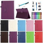 """PU Leather Tablet Stand Protect Case Cover for Lenovo Tab 4 10"""" 8"""" Inch Tablet"""