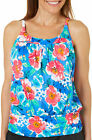 Paradise Bay Womens Garden Beauty Mastectomy Tankini Top