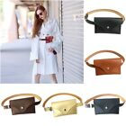 Women Ladies Waist Fanny Pack Belt Bag Travel Hip Bum Bag Coin Key Card Purse AU