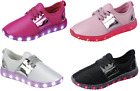 Внешний вид - Girl's Light Up LED Shoes For Baby Toddler And Youth Kids Athletic Sneakers