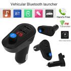 Bluetooth V4.2 Car FM Transmitter  Radio Adapter Dual USB Charger MP3 Player