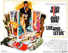 Live And Let Die - James Bond - 1973 - Movie Poster $9.99 USD on eBay