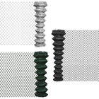 vidaXL Outdoor Garden Chain Link Fence Fencing Roll Steel Multi Sizes 3 Colours✓