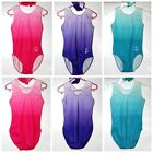 Dreamer - All Lycra ombre girls gymnastics leotard - Pink, Purple or Turquoise