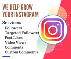 lnstagram services: Followers - Post Likes - Video Views - Comments