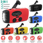 Внешний вид - Emergency Solar Hand Crank Dynamo AM/FM/WB/NOAA Weather Radio LED Torch Charge