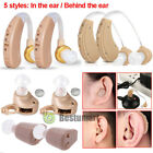 hearing aids amplifiers - A Pair of Digital Hearing Aid Aids Kit Behind/In the Ear Sound Voice Amplifier