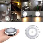 Wireless Night Light Motion Auto Sensor 6 LED Lamp Lights Battery Operated New
